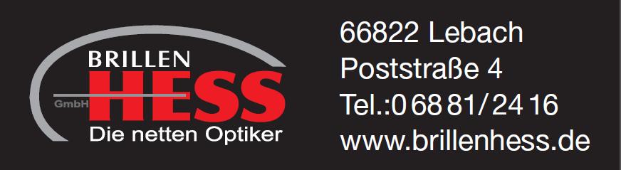 Brillen Hess Logo neu schwarz